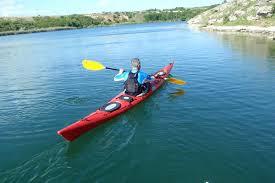 Kayak on Bistrita