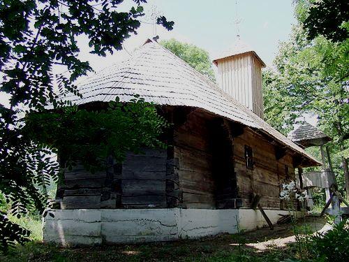 A wooden church