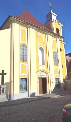 The Franciscan Church Sibiu