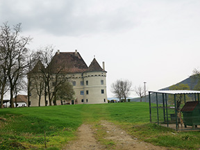 Castle from the Fortress of Balta