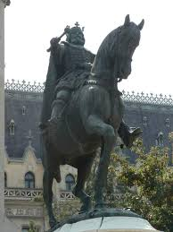 The statue of Stephen the Great