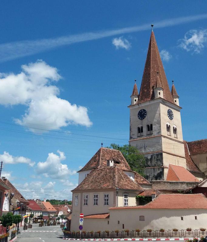 Turnul bisericii Cisnadie