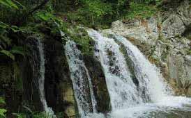 Moldavita Waterfall