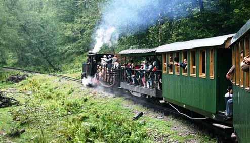 Litle train Sovata-Campu Cetatii