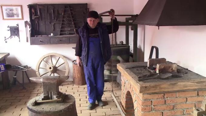 The blacksmith of the village Talisoara
