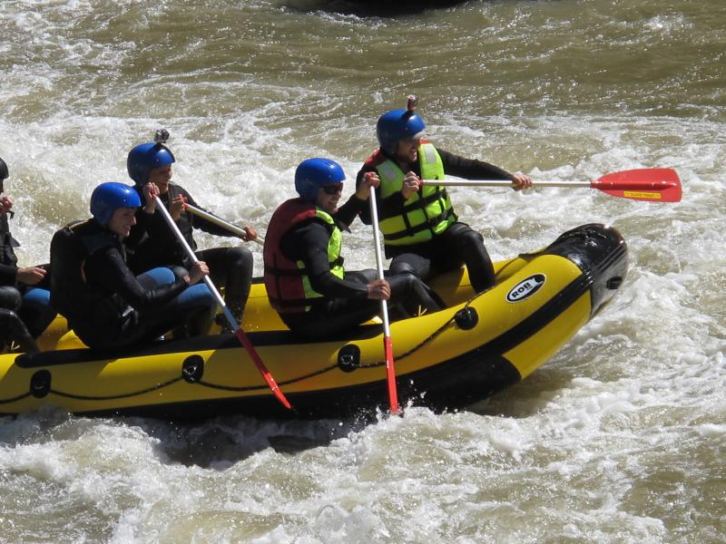 Rafting pe Siriu