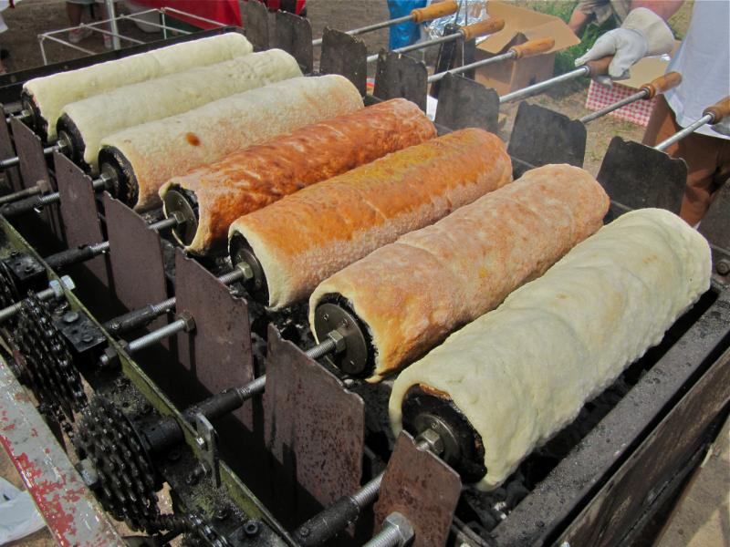 The secrets of roasting Szeckler braid.
