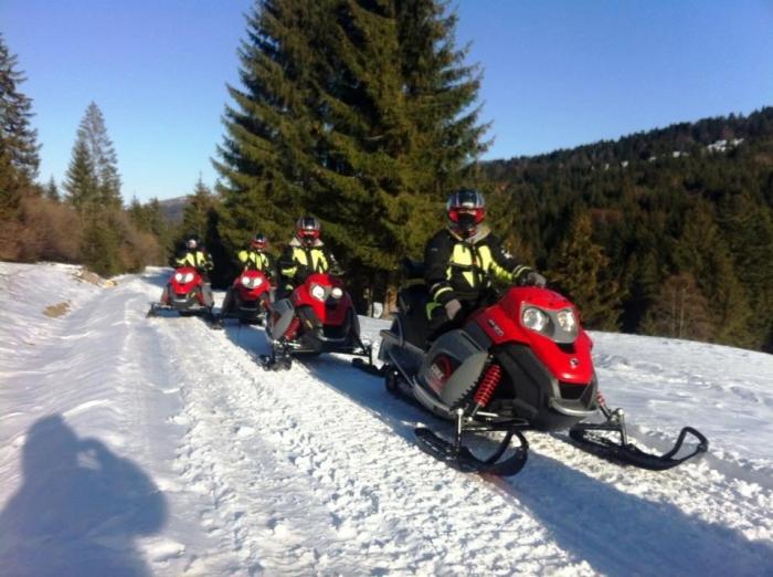 Snowmobil Poiana Brasov