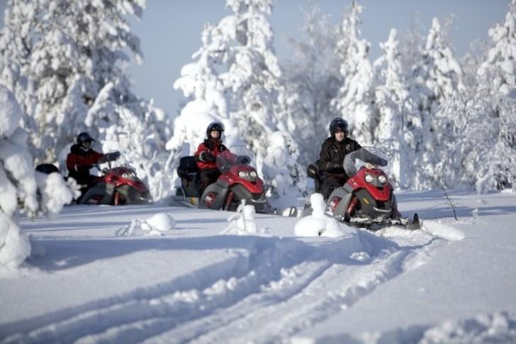 Safari Winter Snowmobile
