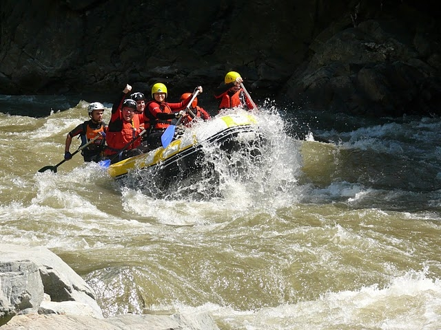 Rafting on Aries