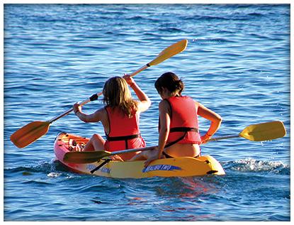 Kayaking on Aries