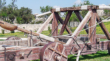 Catapult shooting