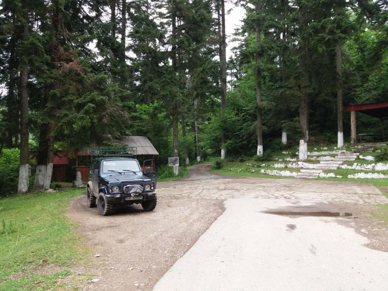 Camping at the Taul of Brazi