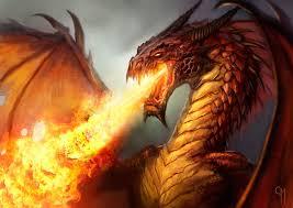Dragon below Magura