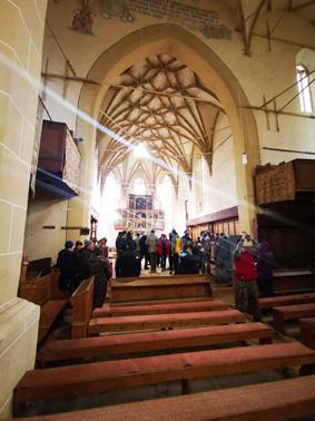 Arlechinul din Biserica